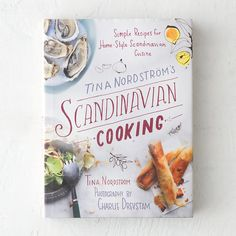 """$29.95 From acclaimed Swedish chef Tina Nordstrom, this lighthearted cookbook presents Scandinavian recipes with a dash of fun. More than 200 of Nordstrom's favorite dishes are paired with tips, shortcuts, and cheerful, watercolor illustrations.- 383 pages- Hardcover- Skyhorse Publishing10.5""""H, 8""""W, 1.25""""D"""