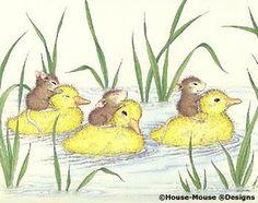 Mice on duckies OMG!!!!!!!!! Cuteness alert