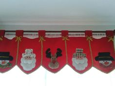 Merry Christmas, Xmas, Valance Curtains, Christmas Decorations, Lily, Quilts, Home Decor, Fabric Basket, Scrappy Quilts