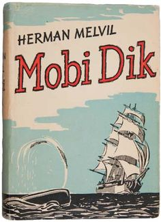 Yugoslavian edition of Herman Melville's Moby Dick.