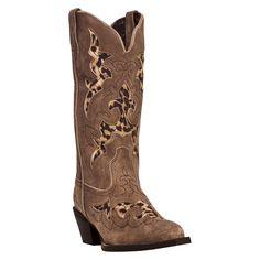 Laredo Women's Leopard Western Boots