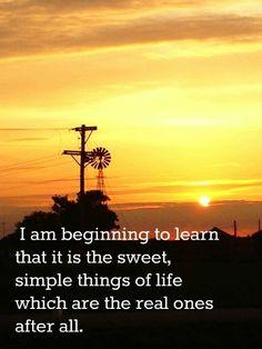 sweet simple things