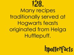 Another reason I'm a Hufflepuff - I love food! HahaXD