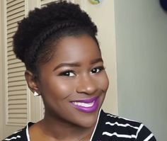 3 Afro Puff Styles for Short Natural Hair work perfectly for naturals in between TWAs and medium natural hair!
