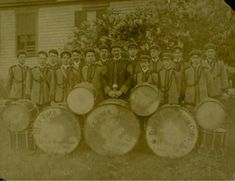 Deep River Drum Corps., ca. 1900 - Connecticut Historical Society and Connecticut History Online
