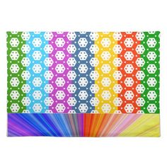Simple Graphics - Exotic Happy Patterns Place Mats