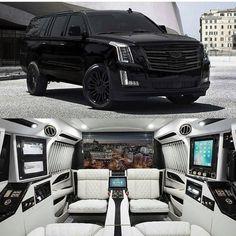 Luxury Cars Suv Cadillac Escalade 22 Ideas For 2019 Cadillac Escalade, Cadillac Ats, Dream Cars, My Dream Car, Design Autos, Carros Bmw, Luxury Van, Luxury Motorhomes, Lux Cars