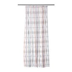 2m long shower curtain from IKEA