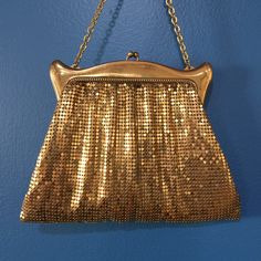 A personal favorite from my Etsy shop https://www.etsy.com/listing/255903734/vintage-whiting-and-davis-gold-mesh
