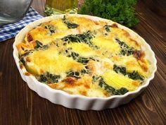♨ Recette de Gratin d'épinards et pommes de terre au chèvre   Cuisine Blog
