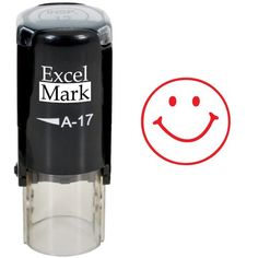 Round Teacher Stamp - SMILEY FACE 1 - RED INK ExcelMark http://www.amazon.com/dp/B0085Y86V8/ref=cm_sw_r_pi_dp_2LXnwb199WC5A