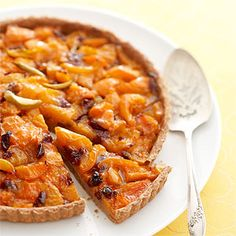 Vitamin E, an antioxidant thought to reduce the oxidation of LDL (bad) cholesterol, is abundant in heart-healthy apricots. Enjoy baked apricots in this apricot and cherry pie. Heart Healthy Recipes, Low Carb Recipes, Cooking Recipes, Pie Recipes, Easy Recipes, Low Calorie Desserts, Healthy Desserts, Healthy Foods, Healthy Lunches