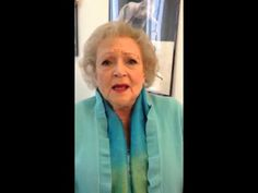 ▶ Betty White Thanks Paul Mitchell Schools - YouTube