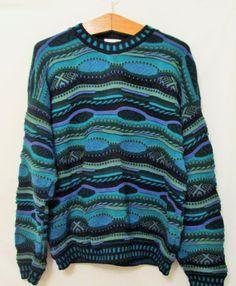 Vintage 1990's Coogi Inspired Sweater by FreshtoDeathVintage