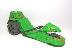 "The Road Ripper, a ripcord-powered vehicle piloted by He-Man and the Heroic Warriors from the ""Masters of the Universe"""