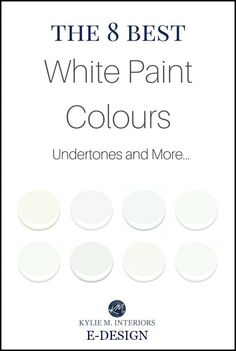 Best White Paint For Trim best selling whites (benjamin moore). i have used simply white for