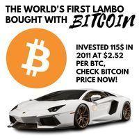 Buys lamborghini with bitcoins price betting odds to win world series