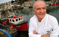 Rick Stein, if you can't get into the Seafood Restaurant try Stein's Fish & Chips - highly recommended!! #Travel