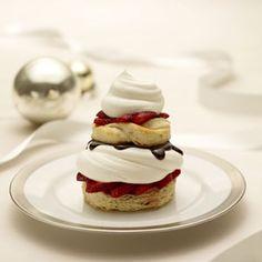 Yum Yum!  Puff Pastry Strawberry and Cream Napoleons