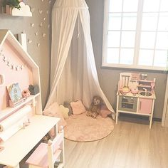 This unique girls room white can be an inspiring and excellent idea Ikea Girls Bedroom, Baby Bedroom, Baby Room Decor, Home Decor Bedroom, Decoration Buffet, Ikea Inspiration, Fantasy Bedroom, Toddler Rooms, Girl Bedroom Designs