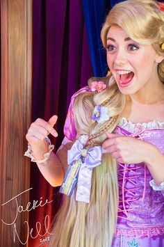 ADORABLE! Rapunzel and her Bow | Flickr