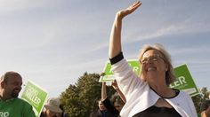 Elizabeth May wins strong endorsement in leadership review - The Globe and Mail