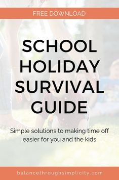 Self care is vital for busy mums to stay strong, healthy and resiliant for daily life. Check out this post for some simple daily self-care ideas for mums. Step Parenting, Parenting Hacks, End Of Year Activities, School Holidays, Survival Guide, Life Inspiration, Make Time, Simple Living, Teaching Kids