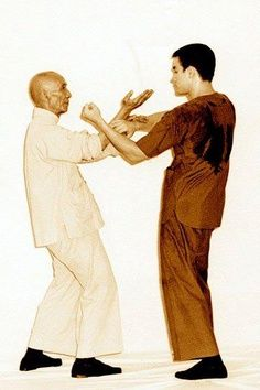 Yip Man - Wing Chun Kung Fu Master - with iconic legent Bruce Lee | Rhodes Wing Chun Kung Fu | http://rhodeswingchunkungfu.weebly.com