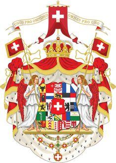 Kingdom of Switzerland - Coat of arms by Regicollis on DeviantArt