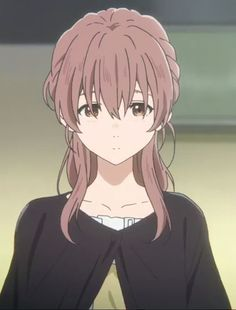 / Koe no Katachi // A Silent Voice // Shouko Nishimiya Film Anime, Anime Manga, Anime Guys, Anime Art Girl, Manga Girl, Koe No Katachi Anime, A Silent Voice Anime, Kyoto Animation, Another Anime