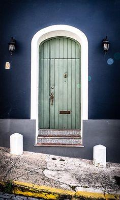 doorway San Juan, Puerto Rico