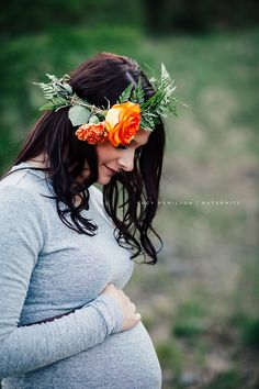 Outdoor Maternity Session — Portraits by Lucy