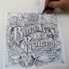 Increíble trabajo visual de David A. Smith para la cubierta del disco de John Mayer