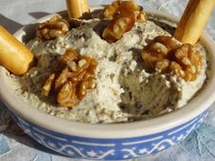 Paté de queso y nueces cocina tradicional Appetizers For Party, Appetizer Recipes, Cooking Time, Cooking Recipes, Mousse, Homemade Sauce, Appetisers, High Tea, Queso