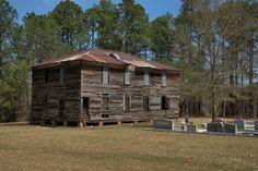 Waterloo GA Old Church School Masonic Lodge Irwin County GA Southern Vernacular Architecture Photograph Copyright Brian Brown Vanishing South Georgia USA 2014