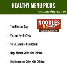 Looking for healthy menu options? Check out these recommended picks at 10 popular sandwich and deli restaurants, including Panera Bread and Jimmy John's. Healthy Fast Food Options, Fast Foods, Fast Healthy Meals, Healthy Menu, Nutritious Meals, Healthy Habits, Healthy Tips, Healthy Choices, Japanese Pan Noodles