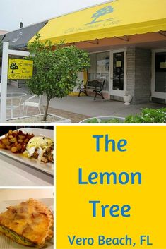 The Lemon Tree, serving locals in Vero Beach, has a delicious breakfast and lunch menu. Try the specials of the day and the decadent lobster salad.