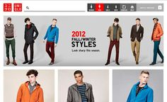 Uniqlo launched new website store