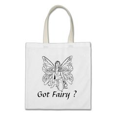 Tote Bag Got Fairy? Graphic bag