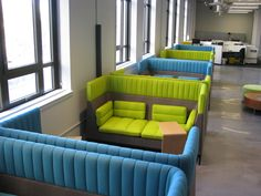 Yammer's new office - conference booths