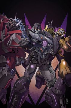 Transformers RID #15 cover colors by khaamar.deviantart.com on @deviantART
