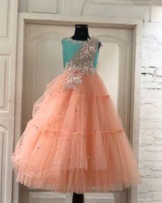 We love dressing up! Long Frocks For Girls, Girls Fancy Dresses, Gown Party Wear, Kids Blouse Designs, Kids Ethnic Wear, Kids Frocks Design, Half Saree Designs, Baby Girl Dress Patterns, Kids Lehenga