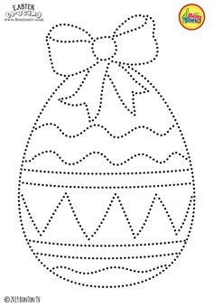 Easter Tracing and Coloring Pages for Kids - Free Preschool Printables and Worksheets, Fine Motor Skills Practice - Easter bunny, eggs, chicks and more on BonTon TV - Coloring books Easter Bunny Colouring, Bunny Coloring Pages, Free Printable Coloring Pages, Coloring Pages For Kids, Coloring Books, Free Preschool, Preschool Printables, Free Printables, Bunny Crafts