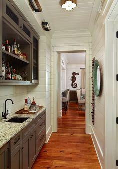 Structures Building Company - kitchens - white shiplap, shiplap paneling, shiplap
