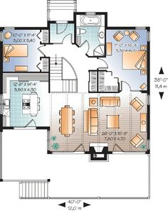 Panoramic Views - 21746DR | 1st Floor Master Suite, CAD Available, Canadian, Cottage, Metric, Mountain, PDF, Sloping Lot, Vacation | Architectural Designs