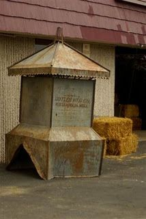 this old barn cupula...my dad built me one for my b-day one yr....it will b my tombstone...hopefully in a very long time <3