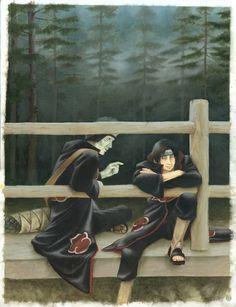 Itachi and Kisame by Nivalis70.deviantart.com