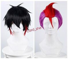 Nanbaka Detentionhouse Jyugo No. 15 Cosplay Hair Wig + Hairnet two color New in Health & Beauty, Hair Care & Styling, Hair Extensions & Wigs | eBay