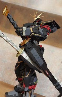GUNDAM GUY: PG Gundam Astray Warrior - Customized Build