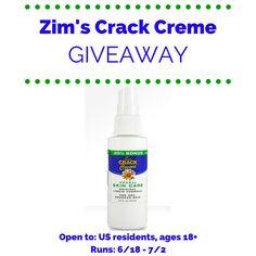 Zim's Crack Creme Giveaway | ends 7/2 | Dorky's Deals